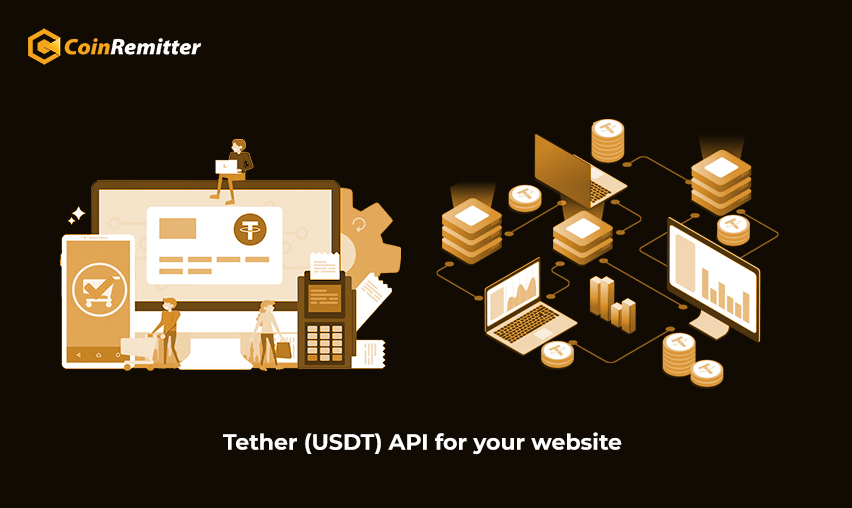 Tether API for your website