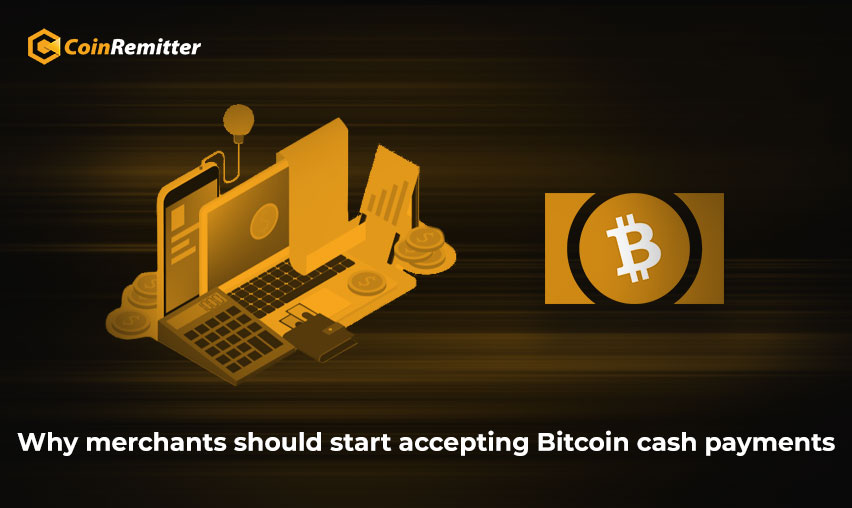 Why merchants should start accepting Bitcoin cash payments